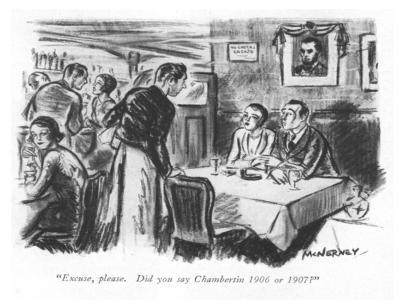 """Excuse, please. Did you say Chambertin 1906 or 1907?"" - New Yorker Cartoon-E. McNerney-Premium Giclee Print"