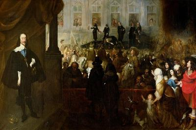 Execution of Charles I-Gonzales Coques-Giclee Print