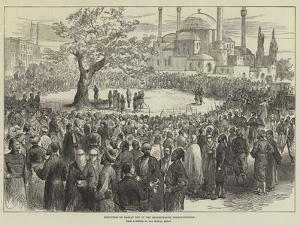 Execution of Hassan Bey at the Seraskierate, Constantinople