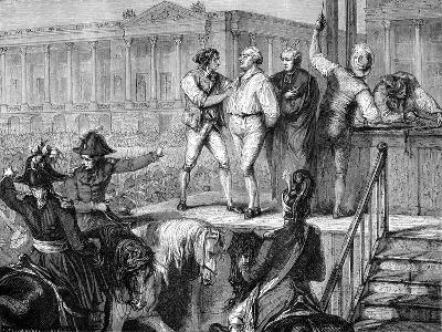 Execution of Louis XVI of France, Paris, 21st January 1793 (1882-188)--Giclee Print