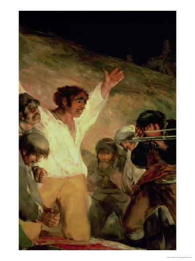 Execution of the Defenders of Madrid, 3rd May 1808, Detail of a Man with His Hands Raised, 1814-Francisco de Goya-Giclee Print