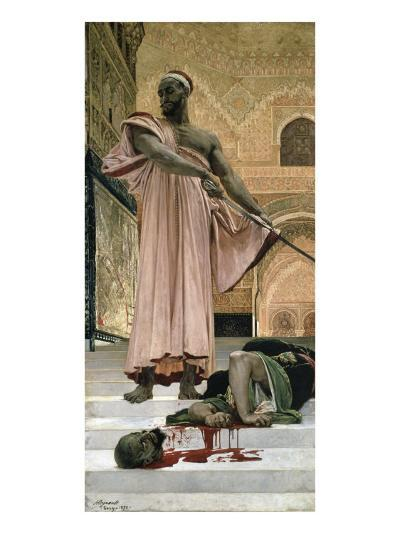 Execution Without Trial Under the Moorish Kings--Giclee Print