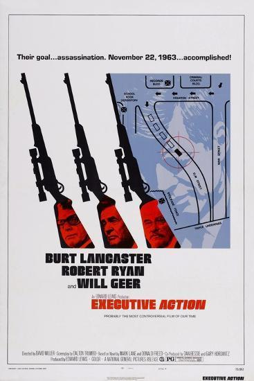 Executive Action, Burt Lancaster, Robert Ryan, Will Geer, 1973--Art Print