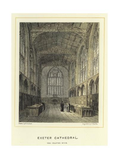 Exeter Cathedral, the Chapter Room--Giclee Print