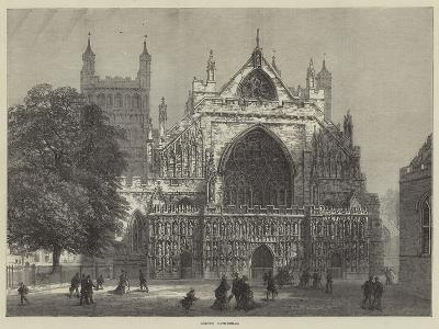 Exeter Cathedral--Giclee Print