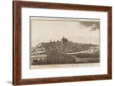 Exeter/Cooke's 1779--Framed Giclee Print