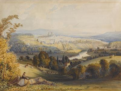 Exeter from Exwick, 1773-William Havell-Giclee Print