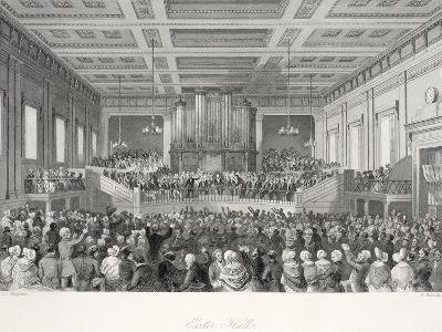 Exeter Hall-Thomas Hosmer Shepherd-Giclee Print