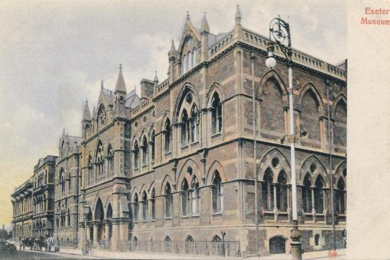 Exeter Museum, Devon, c1905-Unknown-Photographic Print