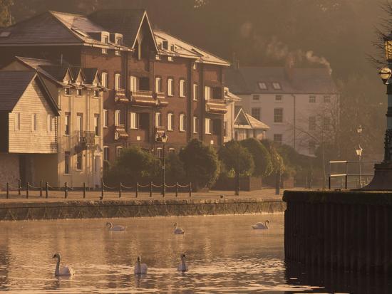 Exeter Quay, Exeter, Devon, England, United Kingdom, Europe-Jeremy Lightfoot-Photographic Print