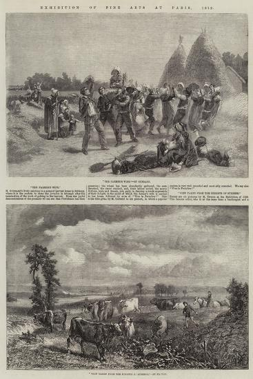 Exhibition of Fine Arts at Paris, 1859--Giclee Print