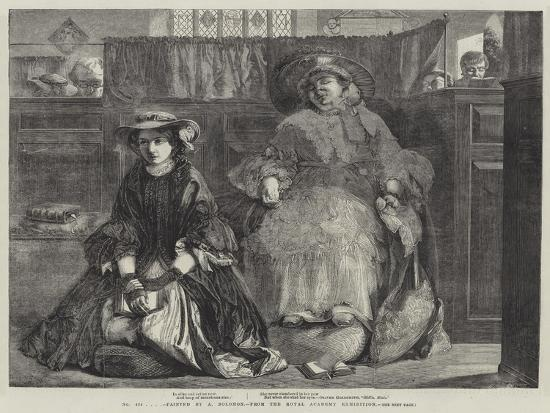 Exhibition of the Royal Academy-Abraham Solomon-Giclee Print