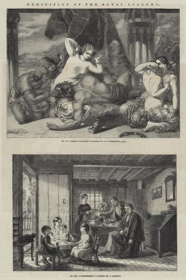 Exhibition of the Royal Academy-Frederick Richard Pickersgill-Giclee Print