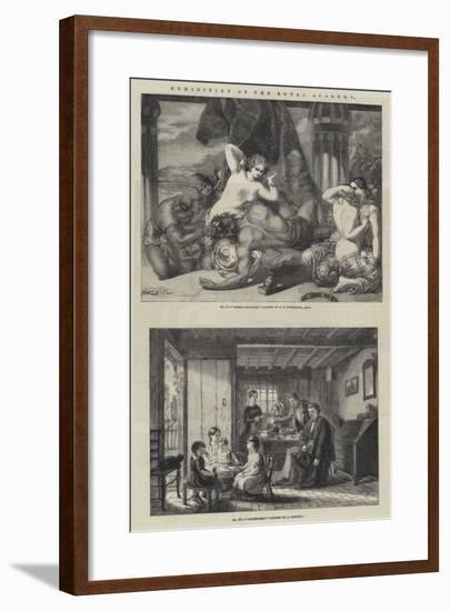 Exhibition of the Royal Academy-Frederick Richard Pickersgill-Framed Giclee Print