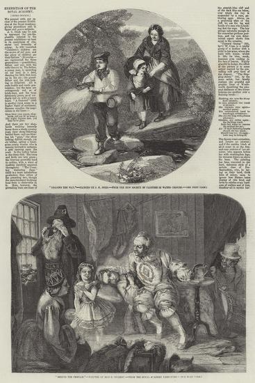 Exhibition of the Royal Academy-John Henry Mole-Giclee Print