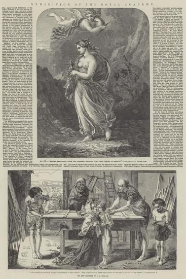 Exhibition of the Royal Academy-Thomas Uwins-Giclee Print
