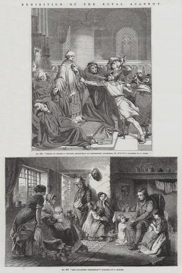 Exhibition of the Royal Academy--Giclee Print
