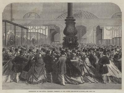 Exhibition of the Royal Wedding Presents at the South Kensington Museum--Giclee Print