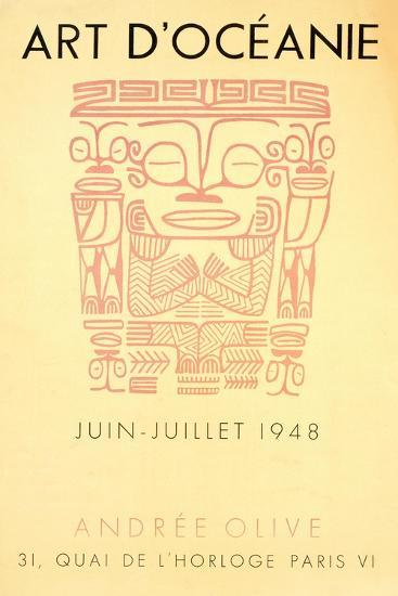 Exhibition Poster, 1948--Giclee Print