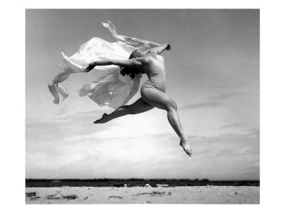 Exhuberant Soaring Dance--Giclee Print