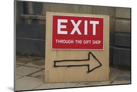 Exit Through the Gift Shop-Banksy-Mounted Giclee Print