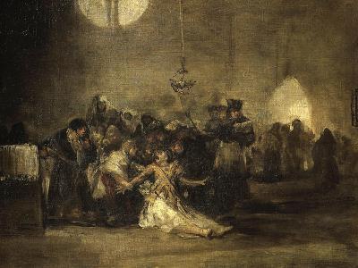 Exorcism Scene-Francisco de Goya-Giclee Print