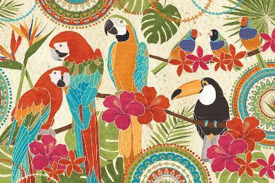 Exotic Breeze I-Veronique Charron-Art Print
