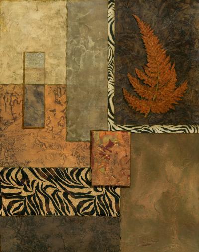 Exotic Fern II-Norm Olson-Art Print