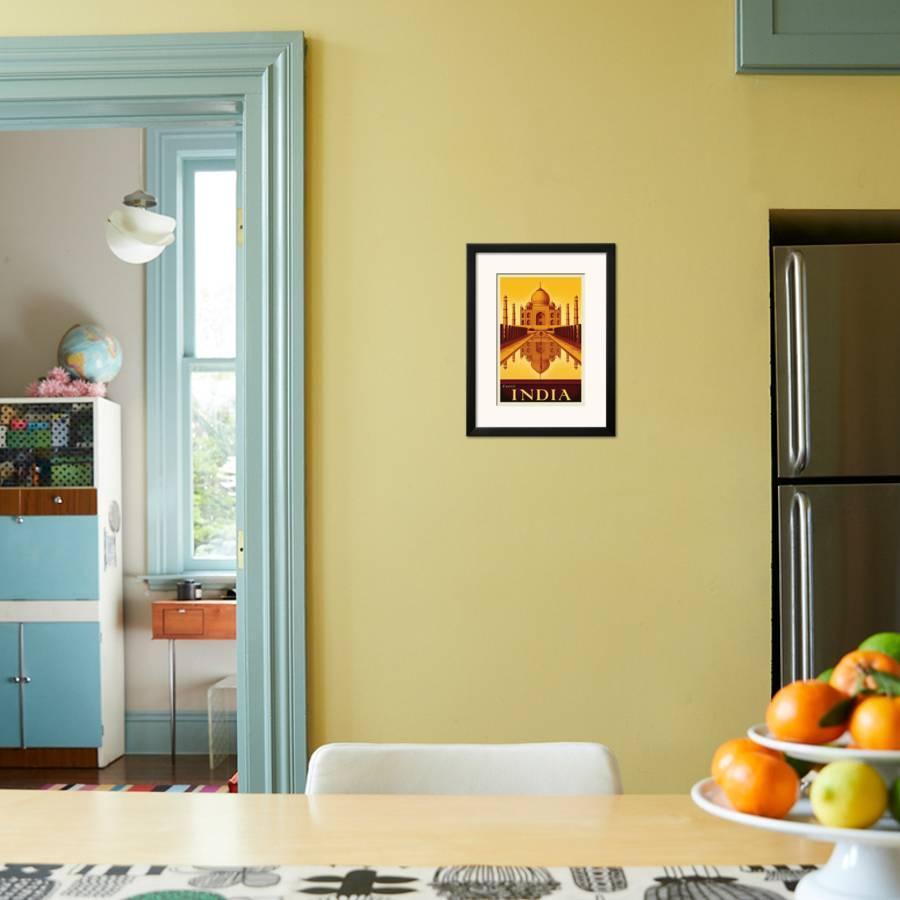 Exotic India Framed Art Print by Steve Forney | the NEW Art.com