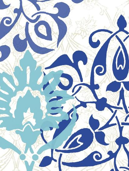Exotic Indigo II-Erica J^ Vess-Art Print