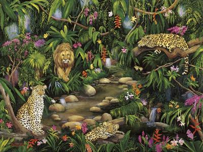 Exotic Jungle-Betty Lou-Giclee Print