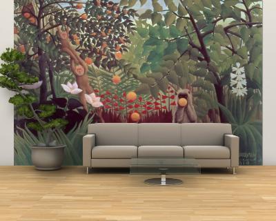 Exotic Landscape, 1910-Henri Rousseau-Wall Mural – Large