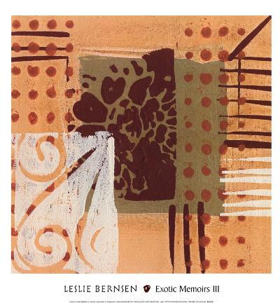 Exotic Memoirs III-Leslie Bernsen-Art Print