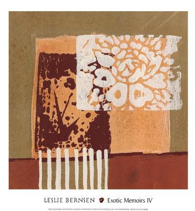 Exotic Memoirs IV-Leslie Bernsen-Art Print