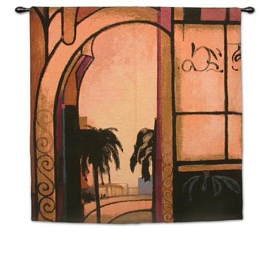 Exotic Retreat I-A^ Santana-Wall Tapestry