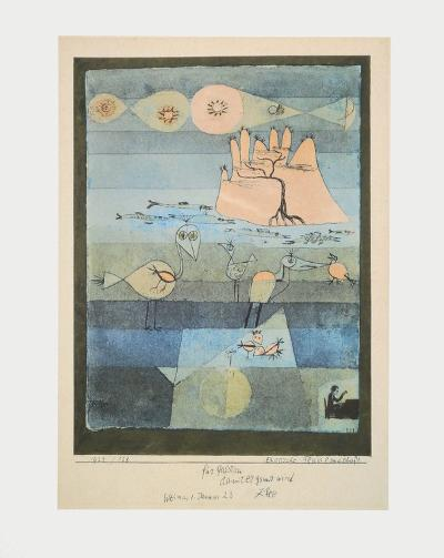 Exotic Riverside-Paul Klee-Collectable Print