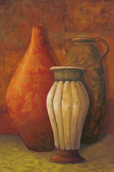 Exotic Vessels I-Jillian Jeffrey-Premium Giclee Print