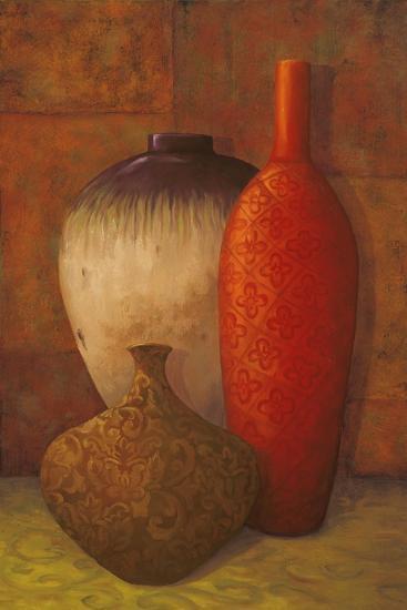 Exotic Vessels II-Jillian Jeffrey-Premium Giclee Print