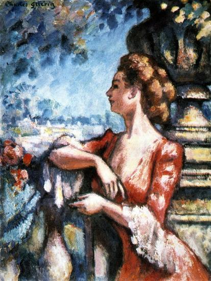 Expectation, 1907-Charles Guerin-Giclee Print