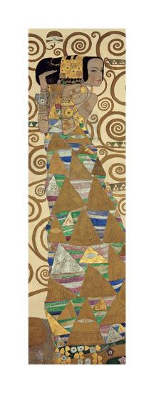 Expectation, Stoclet Frieze, c.1909 (detail)-Gustav Klimt-Giclee Print