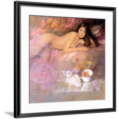 Expectation-Spartaco Lombardo-Framed Art Print