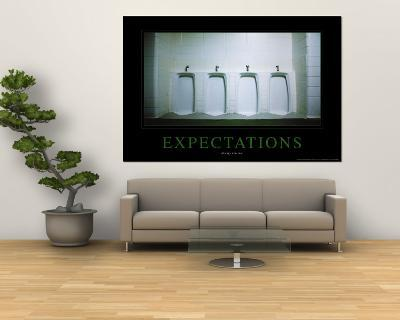 Expectations--Wall Mural