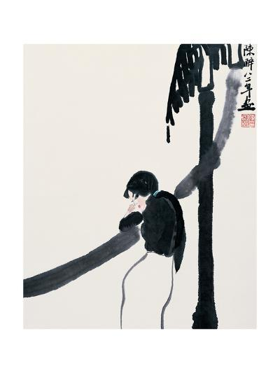 Expecting the Moon-Zui Chen-Giclee Print