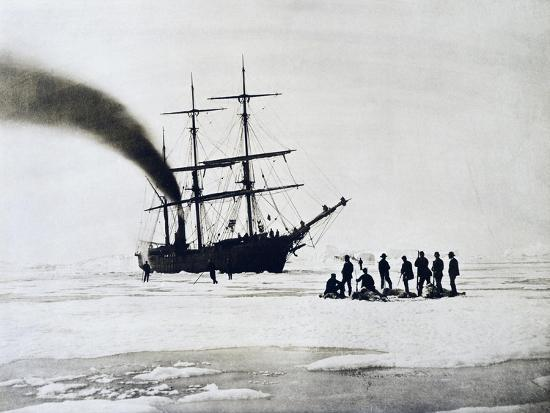 Expedition to North Pole by Count Johann Nepomuk Wilczek--Giclee Print