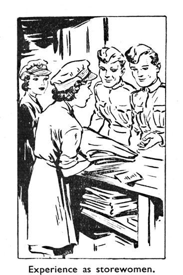 'Experience as storewomen', 1940-Unknown-Giclee Print