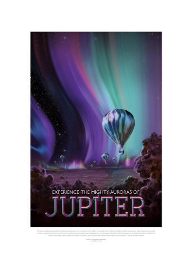 Experience The Mighty Auroras--Giclee Print
