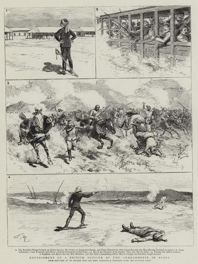 Experiences of a British Officer of the Gendarmerie in Egypt-Adrien Emmanuel Marie-Giclee Print