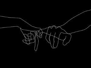 Black Pinky Swear by Explicit Design