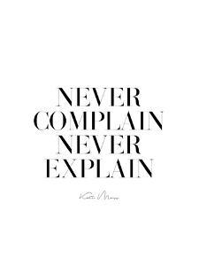 Never Never by Explicit Design