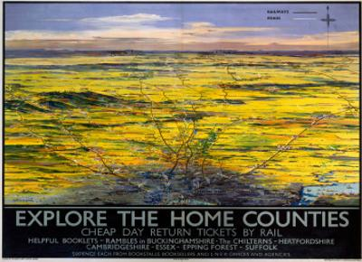 Explore the Home Counties, LNER, c.1936
